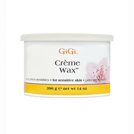 GiGi Creme Wax 14oz can against a white background