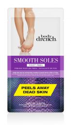 Body Drench, Smooth Soles Foot Peel, 1 Pair