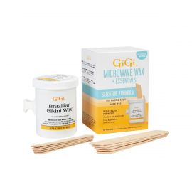 GiGi, Sensitive Formula, Brazilian Bikini Microwave Wax & Essentials