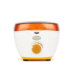 Front view of GiGi Mini Honee Wax Warmer with lid on.