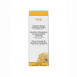 GiGi, Natural Muslin Strips, Small, 100 Pack