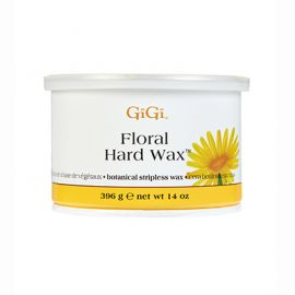 GiGi Floral Hard Wax 14 Oz Can, Botanical Stripless Wax