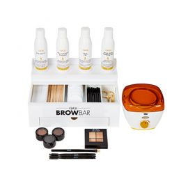 Brow Bar with Mini Honee Warmer