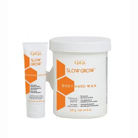Slow Grow Body Wax with Soothing Cream